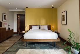 unassuming bedroom with bedside pendant lights bedside lighting