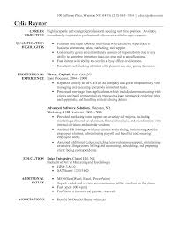 administrative objective for resumes template administrative objective for resumes