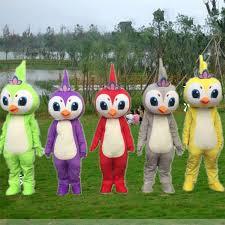 Five Colours <b>Lovely</b> Bird <b>Mascot</b> Costumes Cosplay Theme ...