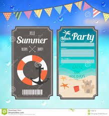 boarding pass template stock photos images pictures 555 images summer beach party ticket on sea background royalty stock images