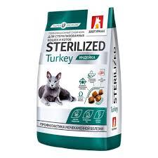 <b>Сухой корм Зоогурман Sterilized</b> Turkey для стерилизованных ...
