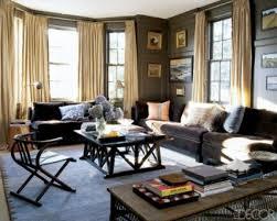 gray walls brown furniture grey brown wooden color color scheme for living room black white fur blue walls brown furniture