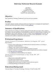 veterinary technician resumes   resume templates for us    veterinary technician resume samples