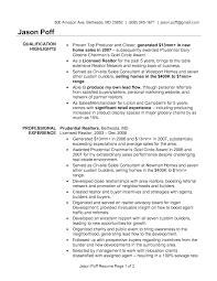 writer producer resume effective real estate agent resume jason poff and vntask com effective real estate agent resume