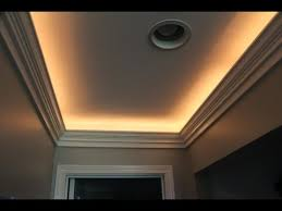 crown molding with indirect lighting installation youtube ceiling indirect lighting