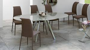 round glass extendable dining table: round glass extending dining table andria glass extending dining table