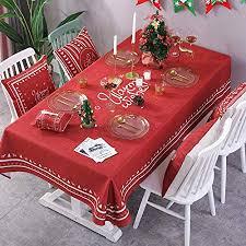 GE&YOBBY <b>Christmas</b> Fabric Rectangle Tablecloth,<b>christmas</b> ...