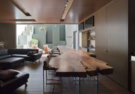long wood dining table: view in gallery large wood slab dining tablejpg