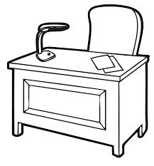 office furniture clipart black and white office furniture