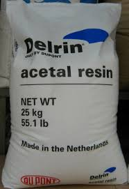 Raw Dupont Delrin Resin prior to making sheets or rods