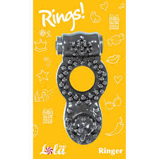 <b>Эрекционное кольцо Rings Ringer</b>, черное LOLA0114-72 купить в ...