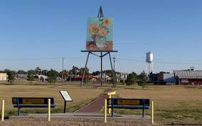Giant <b>van</b> Gogh Painting - Goodland, Kansas
