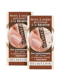 <b>Лак</b> укрепляющий для тонких и неровных <b>ногтей с</b> кератином ...