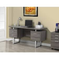 fair gray office desk brilliant home decor arrangement ideas alluring gray office desk