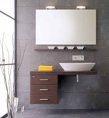 design basin bathroom sink vanities:  ergonomic floating sink cabinet design for space conscious homes