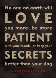 Image result for unconditional love from dogs quotes