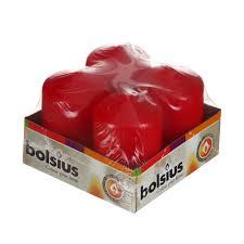 <b>Свеча круглая Bolsius</b> rustic 80мм белая (1002306152) купить в ...