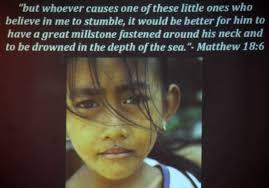 Image result for millstone child jesus