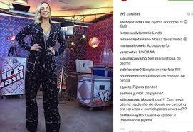 Resultado de imagem para claudia leitte de pijama no the voice brasil