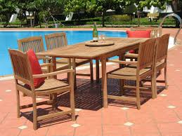 piece teak patio seating