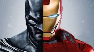 ironman vs batman batman iron man fanboy
