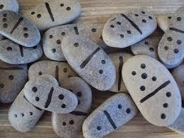 Piedras juego: dominó
