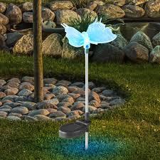 <b>Solar lamp Butterfly</b> Solar Light Colour Changing LED Globo 33943 ...