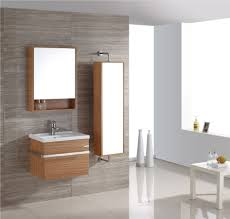 white mirrored bathroom wall cabinets:  brown wooden floating cabinet with white wash stand also mirror f shelf on the gray wall bathroom mirror with storage bathroom bathroom remodel cost storage lighting flooring ikea furniture rugs exhau
