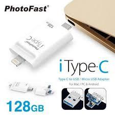 【128G】PhotoFast iTypeC 雙頭龍A500104 | 快3網路商城~燦坤實體守護