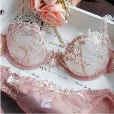 <b>NEW Fashion Women</b> Embroidery Transparent Bra Plus Size Lace ...