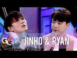 JinHo and Ryan reenact a <b>Korean version of a</b> scene from Four ...