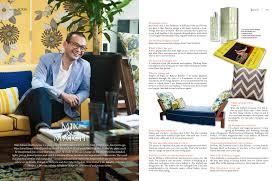 in the press w a m a d e s i g n s designers at home an interview wan zainal abidin