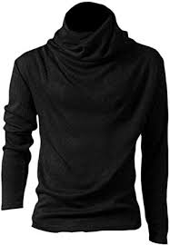 Smeiling <b>Mens Knitwear Knitting</b> Solid Color <b>Stand</b> Collar Slim Fit ...