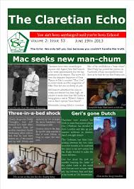 st clarets gfc hayes rugby club kingshill avenue hayes middlesex londonacirc claretian echo issue 53 the weekly newsletter from st clarets gfc in london