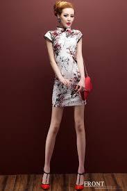 Casual women dress for <b>Spring and Autumn</b> - <b>Plum</b> blossom - short ...