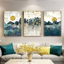 <b>Geometric</b> Sun <b>Landscape</b> in 2019 | <b>Geometric wall</b> art, <b>Wall</b> art ...
