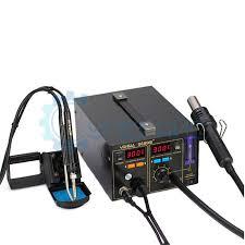 Термовоздушная <b>паяльная станция YIHUA</b>-<b>968DB+</b> ...