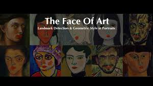 The Face of Art: Landmark Detection and <b>Geometric Style</b> in Portraits