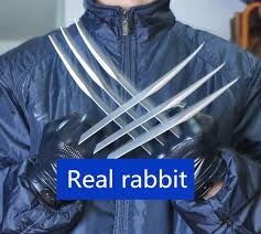 2019 TOP <b>Cosplay</b> X Men 1:1 32cm Wolverine Paw <b>Gloves PVC</b> ...
