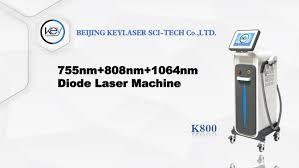<b>808nm</b> 755nm 1064nm Diode Laser Hair Removal KEYLASER ...