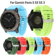 <b>26 22 20MM Watchband</b> WristStrap For Garmin Fenix 5X 5 5S Plus ...