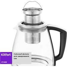 <b>Электрический чайник Kitfort</b> КТ-<b>669</b> в Санкт-Петербурге – купить ...