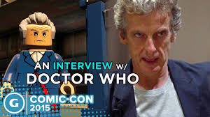 an interview the doctor at comic con 2015 an interview the doctor at comic con 2015