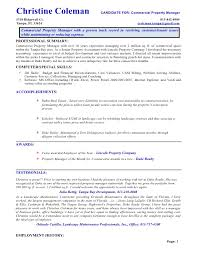 commercial property manager resume   riez sample resumes   riez      commercial property manager resume   riez sample resumes   riez sample resumes   pinterest   resume and commercial