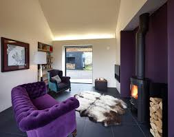 Purple Living Room Design Great Looking Purple Couch Design Ideas