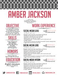 social media twitter linkedin facebook icons resume and cover the amber jackson resume design custom resume creative resume resume design black