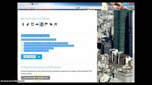 create a website a