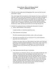 opera concert review essay on sound thehousemin com