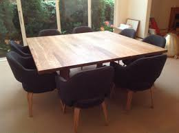 Square Dining Room Table With 8 Chairs Square Dining Room Table For 8 Is Also A Kind Of Custom Diy Square