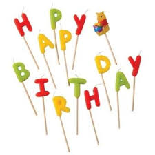 <b>Свечи</b>-<b>буквы</b> Винни Happy Birthday <b>Procos</b> - купить по цене ...